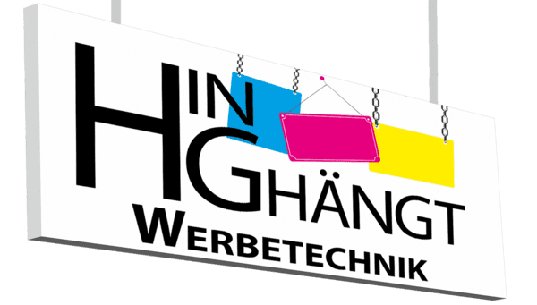 HIN ghängt Werbetechnik GmbH - Logo